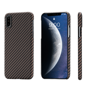 Pitaka MagEZ Case tok Fekete/Arany Twill Apple iPhone Xs Max (KI9006XM)