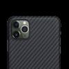 Pitaka MagEZ Case tok Fekete/Szürke Twill Apple iPhone 11 Pro (KI1101)