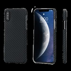 Pitaka MagEZ Case tok Fekete/Szürke Twill Apple iPhone Xs Max (KI9001XM)